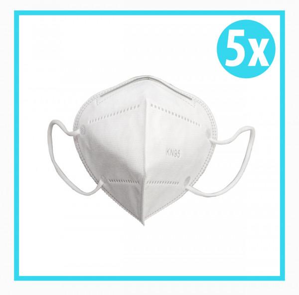 5x Mundschutz Maske KN95