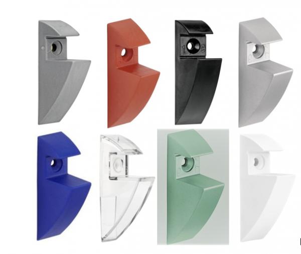 Regalträger Regal-Clip Regalbodenhalter Wandregal Glas Bodenträger Regalhalter
