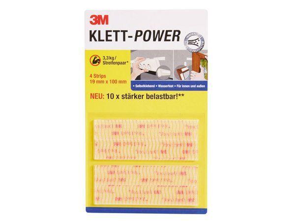 3M Klett Power band Klebepads Klettband Klettbinder wasserfest innen und aussen