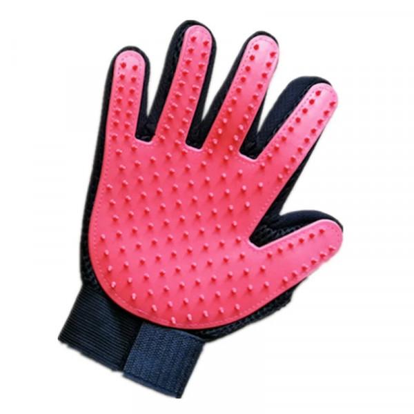 Fellpflegehandschuh Fellhandschuhe Haarentfernung Tierfell Bürste Hand Massage