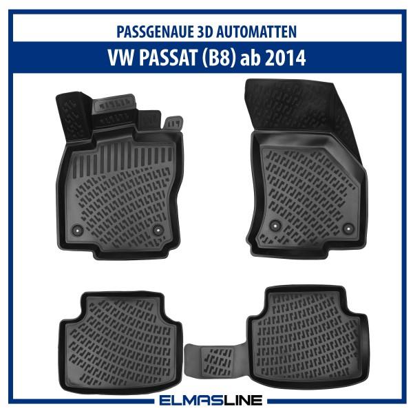 Design 3D Gummimatten Set für VW PASSAT (B8) ab 2014