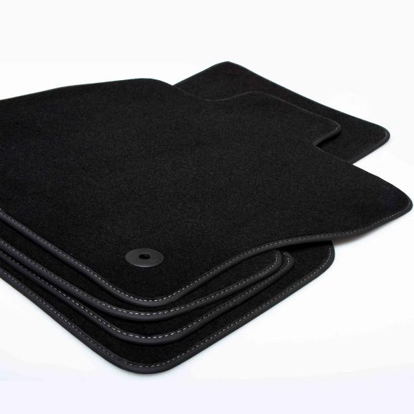 Premium Textil Fußmatten Set für AUDI A6 (C7) 2011-2018