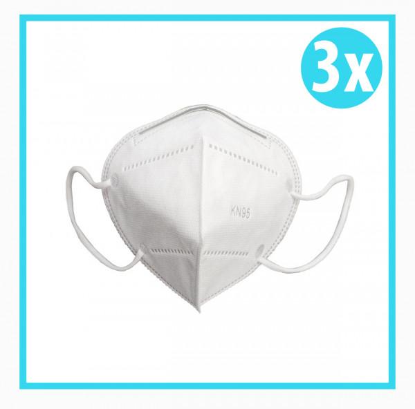3x Mundschutz Maske KN95