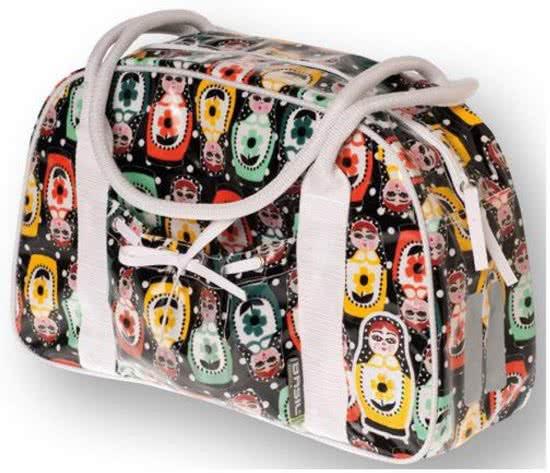 Fahrradtasche Basil Babouska Bowling City Schulter Bag 14L Gepäck Packtasche
