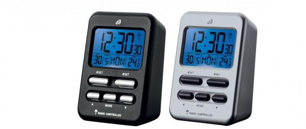Funkwecker Reisewecker Funkuhr Wecker LCD Display Digital Tischuhr Thermometer