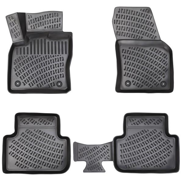 Design 3D Gummimatten Set für VW TIGUAN 2 (II) ab 2016