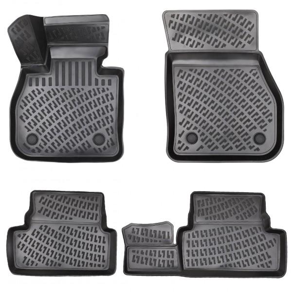 Design 3D Gummimatten Set für RENAULT CLIO III 2005-2012