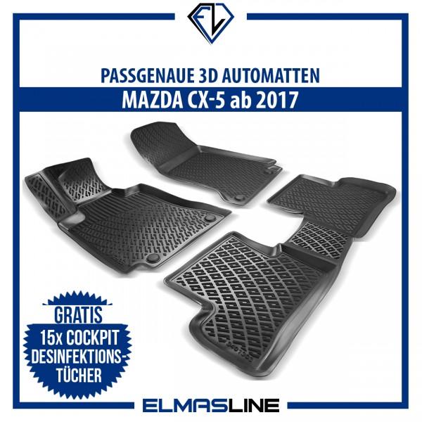 Design 3D Gummimatten Set für MAZDA CX-5 ab 2017