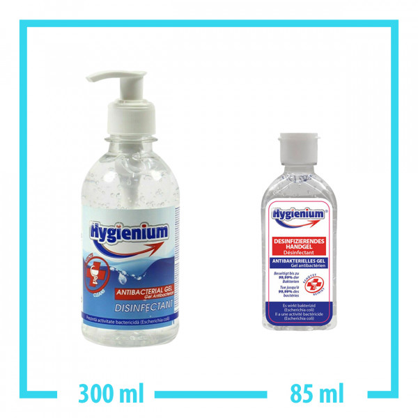 Hygienium 300ml Handgel + 85ml Handgel