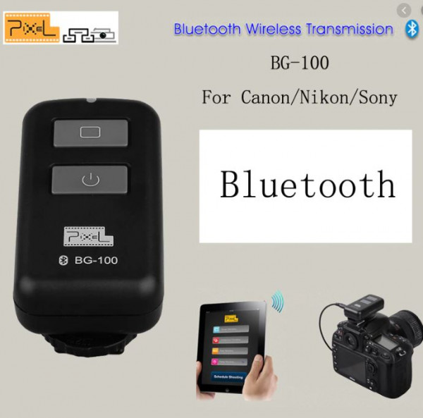 Pixel BG-100 Bluetooth Timer Remote Control für Sony Fernbedienung iPhone App