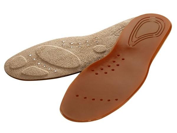 MIKROFASER Design Gel Velours Einlegesohlen Schuh Einlagen 36-40 41 42 43 44 45