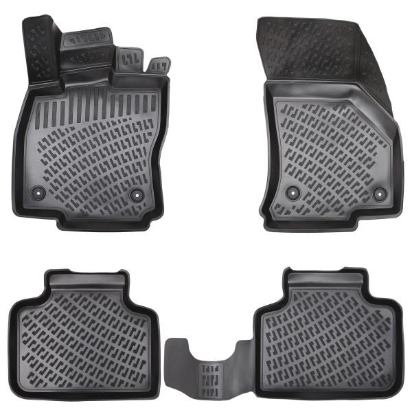 Design 3D Gummimatten Set für VW PASSAT HYBRID (B8) ab 2014