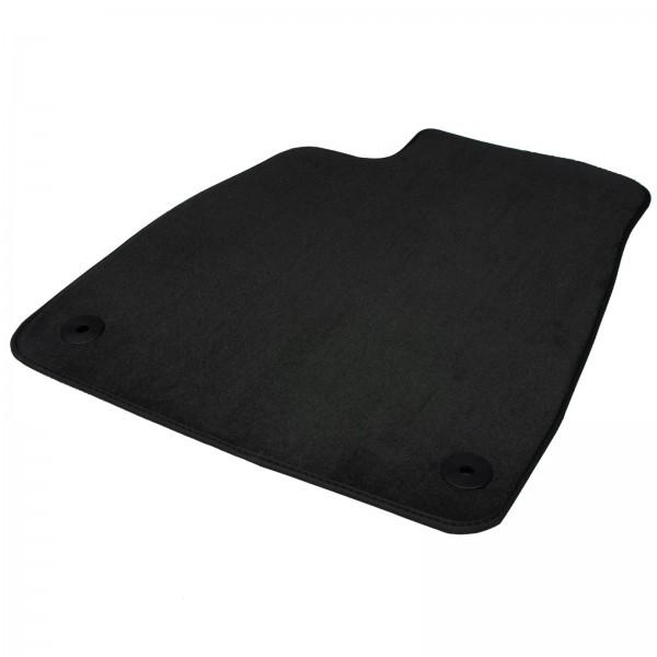 Fahrerseite Premium Textil Fußmatten für AUDI A4 B8 2007-2015