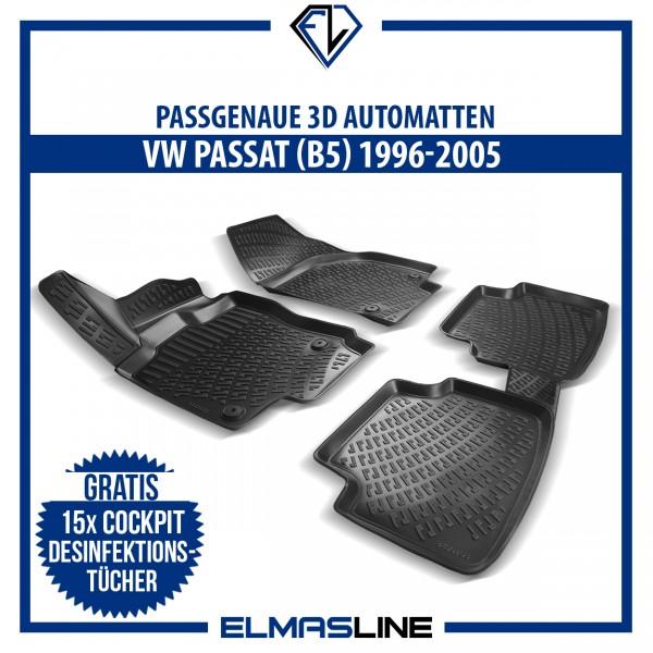 Design 3D Gummimatten Set für VW PASSAT (B5) 1996-2005