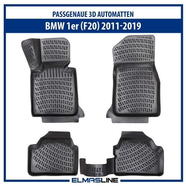 Design 3D Gummimatten Set für BMW 1er 2011-2019