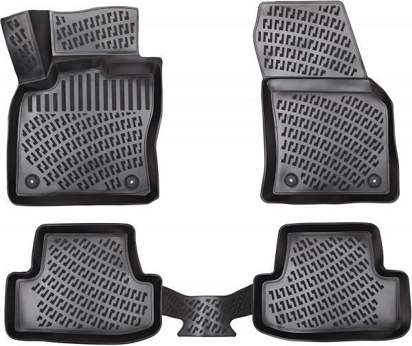 Design 3D Gummimatten Set für MERCEDES GLC ab 2015