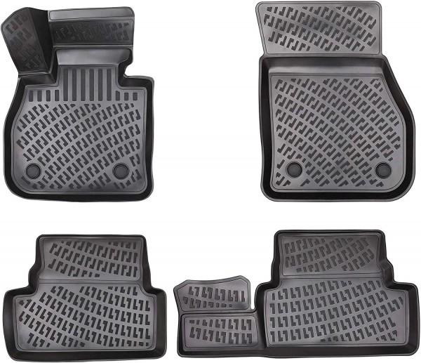 Design 3D Gummimatten Set für CHEVROLET AVEO 2002-2011